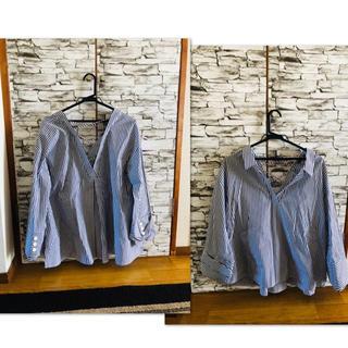 ムルーア(MURUA)のMURUA ナロークロステープシャツ(シャツ/ブラウス(長袖/七分))