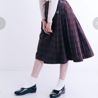 メルロー(merlot)の【美品】merlot スカート(ひざ丈スカート)