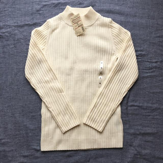 MUJI (無印良品) - ☆新品未使用タグ付☆無印良品 洗えるハイネックセーター