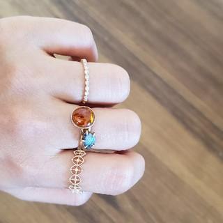 アガット(agete)のボルダーオパール(リング(指輪))