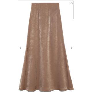 snidel - サテンマーメイドスカート