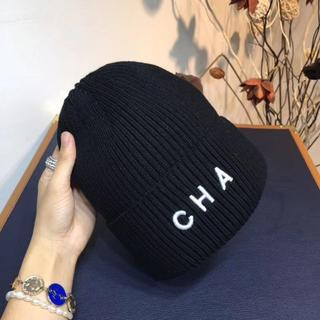 シャネル(CHANEL)のチャンネルニット帽(ニット帽/ビーニー)