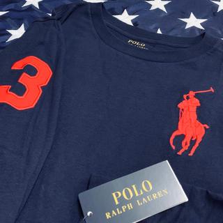 ポロラルフローレン(POLO RALPH LAUREN)の★BIG PONY ★ラルフローレンビッグポニー長袖TシャツL/160(Tシャツ/カットソー)