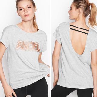 ヴィクトリアズシークレット(Victoria's Secret)の格安‼️新作半袖Tシャツ VSX XSサイズ♡新品未使用(Tシャツ(半袖/袖なし))