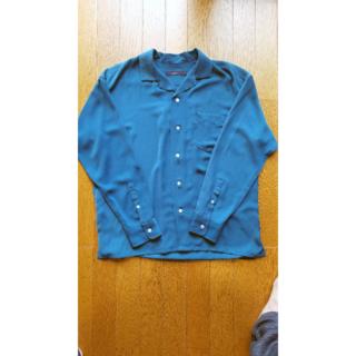 レイジブルー(RAGEBLUE)のRAGEBLUE オープンカラーシャツ サイズM(シャツ)