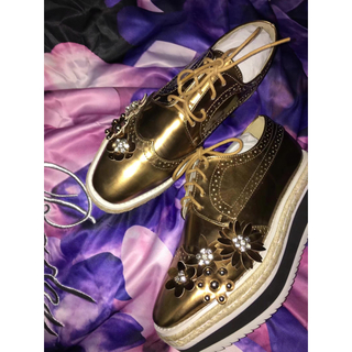 チェスティ(Chesty)の新作 chesty チェスティ Flower Platform Shoes (スニーカー)