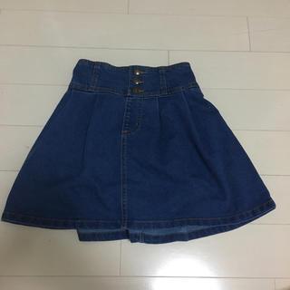ジーユー(GU)のGUデニムスカート140(スカート)