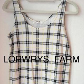 ローリーズファーム(LOWRYS FARM)のタンクトップ  ローリーズファーム  セール 350円(タンクトップ)