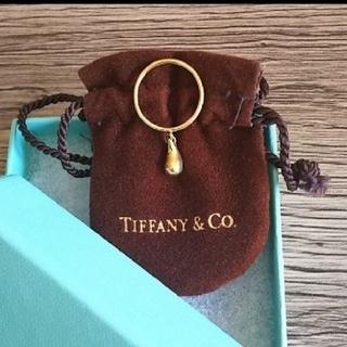 ティファニー(Tiffany & Co.)のティファニーティアドロップゴールドリング(リング(指輪))