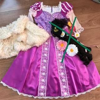 Disney - ラプンツェル ドレス110 くつ19cm