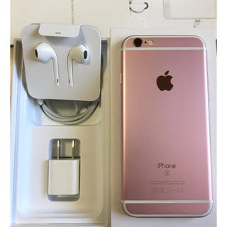 Apple - iPhone6s  RoseGold 64G( SIMフリー)