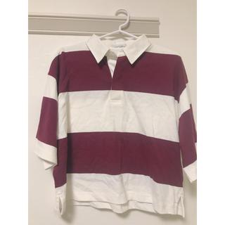 ジーナシス(JEANASIS)のJEANASIS ラガーTEE (Tシャツ(半袖/袖なし))