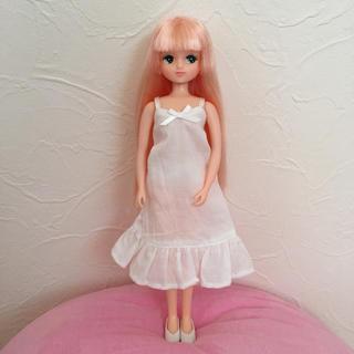 タカラトミー(Takara Tomy)のリカちゃんキャッスル きらちゃん  ピンク 服 靴 ピアス(ぬいぐるみ/人形)