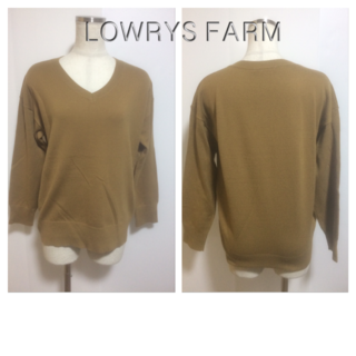 LOWRYS FARM - 美品☆LOWRYS FARMのニット☆46734