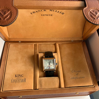 フランクミュラー(FRANCK MULLER)の値下げ‼️フランクミュラー 10000HSCコンキスタドールコルテスSS自動巻(腕時計(アナログ))
