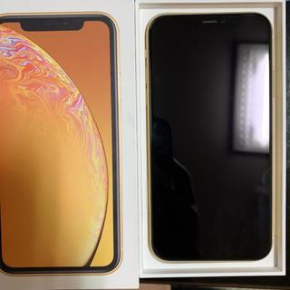 iPhone - iPhonexr 64GB イエローSIMフリーdocomo