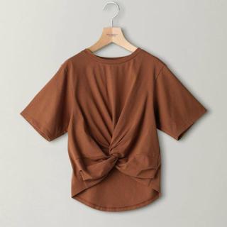 ビューティアンドユースユナイテッドアローズ(BEAUTY&YOUTH UNITED ARROWS)の beauty&youth フロントクロスショートTシャツ(Tシャツ(半袖/袖なし))