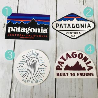 パタゴニア(patagonia)のpatagoniaステッカー  4枚セット(シール)