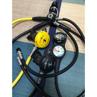 アクアラング(Aqua Lung)のダイビング機材一式(マリン/スイミング)