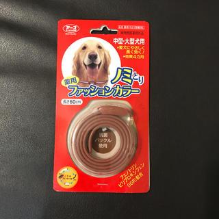 アースバイオケミカル(アースバイオケミカル)の薬用ノミ取り 首輪  新品 未使用(犬)