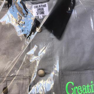 ジーディーシー(GDC)のVerdy Creative Drug Store ジャケット Lサイズ 値下げ(ナイロンジャケット)