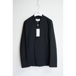 Maison Martin Margiela - 新品!19ss46 Margiela マルジェラ ノーカラージャケット ブラック