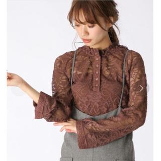 ミスティウーマン(mysty woman)のmystiywoman lace blouse(シャツ/ブラウス(長袖/七分))