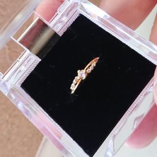 アネモネ(Ane Mone)のキュービックジルコニアゴールドの指輪(リング(指輪))