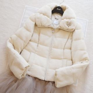 ルネ(René)の極美品♡ルネ♡ツイード中綿ジャケット(ノーカラージャケット)