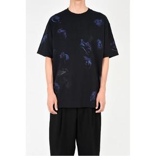 LAD MUSICIAN - 【lad musician】18aw 花柄T-Shirt Blue 42