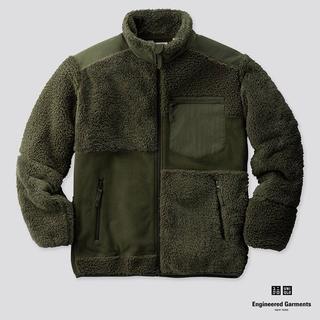 エンジニアードガーメンツ(Engineered Garments)のUNIQLO  エンジニアドガーメンツ  フリース Sサイズ(ブルゾン)