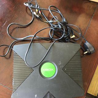 エックスボックス(Xbox)のxbox(家庭用ゲーム機本体)