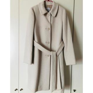 MACKINTOSH PHILOSOPHY - 超美品 アンゴラ オフホワイト ロングコート