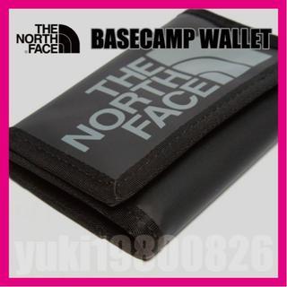 ザノースフェイス(THE NORTH FACE)の【海外】 新品 ノースフェイス ベースキャンプウォレット 黒(折り財布)