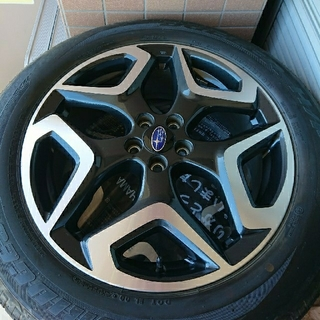 スバル(スバル)のスバル XV 純正 18インチ タイヤ アルミホイール(タイヤ・ホイールセット)