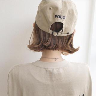 POLO RALPH LAUREN - POLO ベージュ キャップ