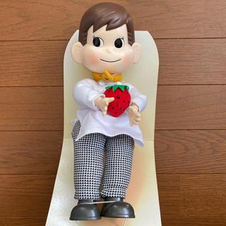 フジヤ(不二家)のポコちゃん人形 おすわり シェフ編(ぬいぐるみ)