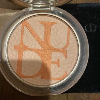 ディオール(Dior)のディオール ミネラルヌードグロウ01  ローズスイート(フェイスカラー)