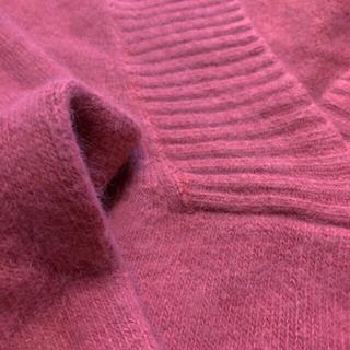リリーブラウン(Lily Brown)のモヘアニット風セーター くすみピンク 【価格交渉OKです!】(ニット/セーター)