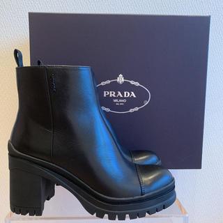 プラダ(PRADA)の新品 PRADA ブーツ ラバーソール 35(ブーツ)