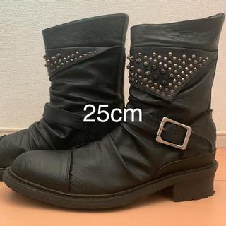ブーツ メンズ 25㎝(ブーツ)