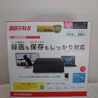 Buffalo - 外付けHDD バッファロー 3TB