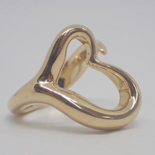ティファニー(Tiffany & Co.)のティファニー  ハート リング  K 18  (リング(指輪))