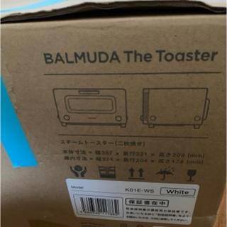 バルミューダ(BALMUDA)のバルミューダ the Toaster White (新品未使用)(調理機器)