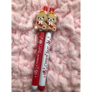 BANDAI - 【namco限定】クラウンベア  ボールペン 赤2色セット