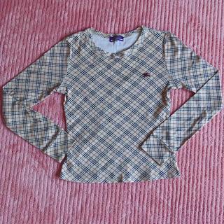 バーバリーブルーレーベル(BURBERRY BLUE LABEL)のBurberry トップス(Tシャツ(長袖/七分))