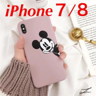 Disney - ラスト1個!ピンクのミッキーiPhoneケース iPhone7 iPhone8
