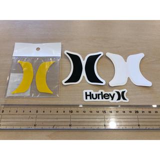ハーレー(Hurley)のHURLEY4点ステッカーセット 新品未使用 全国送料無料(サーフィン)