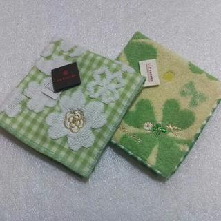 CLATHAS - クレイサス&レノマ☆タオルハンカチ2枚セット