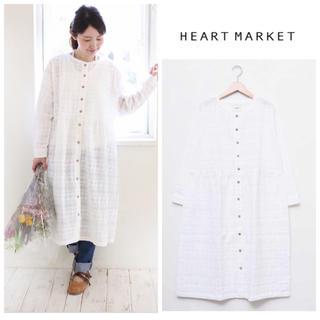 Heart Market - 新品♡ハートマーケット♡総刺繍前開きワンピース